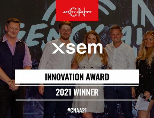 XSEM win CN Agency Innovation Award